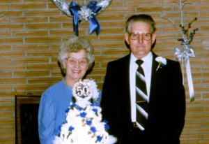 Howard & Madeline Detrick 50th Anniversary Jan 2, 1989