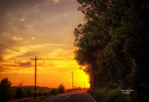 Highway to sunset Farm Road Springfield MO 5-2-15